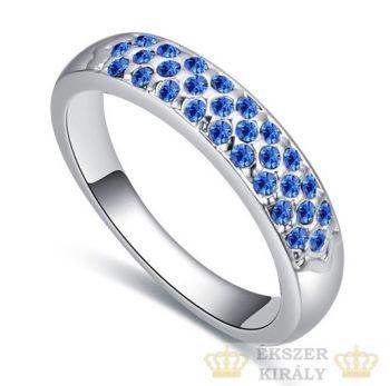 zafír gyűrű